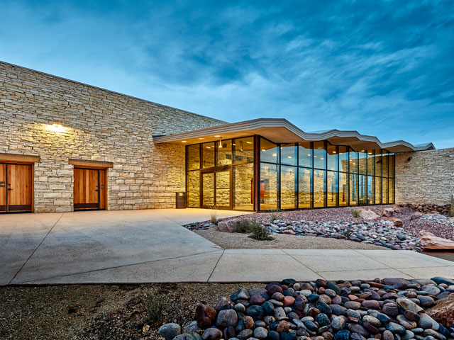 Recently Completed: TxDOT Pecos County Rest Area