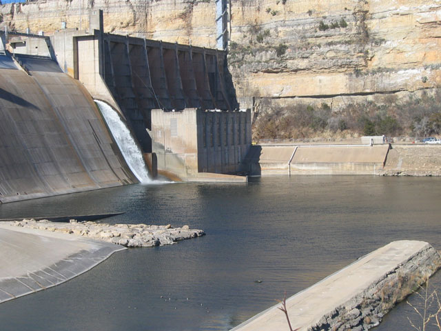Possum Kingdom Morris Sheppard Dam Improvements